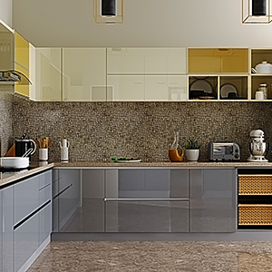 L shape Kitchen Interior design