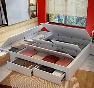 Storage beds   Homes Under Budget