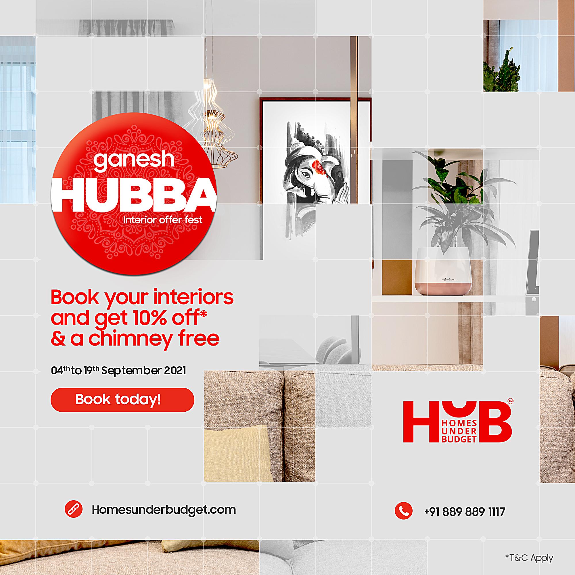Ganesh Hubba Interior Offer