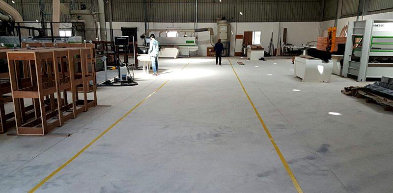Factory Work Area